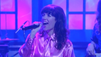 Natalie Prass Delivered A Glittering, Dancing Throwback Performance Of 'Short Court Style' On 'Conan'