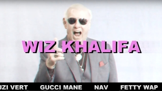 Please Enjoy Ric Flair Yelling Rappers' Names As Explosions Go Off