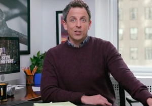 Seth Meyers Reminds Viewers That Teenagers Are Going To Save Us All