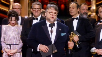 'The Shape Of Water' Takes The Oscar For Best Picture In A Surprise Win