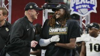 Shaquem Griffin Had A Remarkable Bench Press Performance At The NFL Combine Using A Prosthetic Hand
