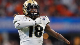 UCF LB Shaquem Griffin Ran An Absurd 4.38 In The 40-Yard-Dash At The NFL Combine