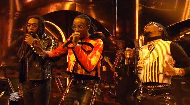 Migos' 'Narcos' 'SNL' Performance Put Takeoff Rapid-Fire Flow On