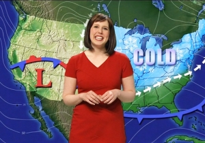 Vanessa Bayer Makes A Surprise Return To 'SNL' To Reprise Her Role As A Confusing Weather Lady