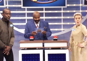 'SNL' Uses 'Celebrity Family Feud' To Make Fun Of Oscar Winners, Oscar Losers, And Kenan Thompson