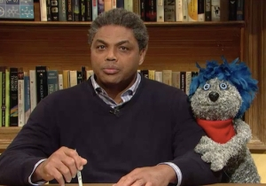 Charles Barkley And His Puppet Companion Navigate Prank Call Hell On SNL's 'Homework Hotline'