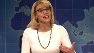 Kate McKinnon Channels Betsy DeVos And Her Embarrassing '60 Minutes' Interview On 'SNL'