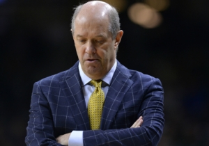 Pitt Coach Kevin Stallings Trying And Failing To Break A Clipboard Is A Metaphor For The Panthers' Season
