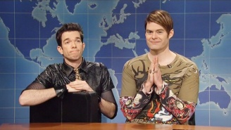 Stefon Returns On 'SNL' For A 'Weekend Update' Homecoming With Help From John Mulaney