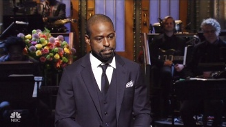Sterling K. Brown Can't Keep His 'This Is Us' Emotional Outbursts Out Of His 'SNL' Monologue