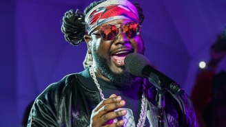 T-Pain Will Have You Eating Chicken Wings Off His Belly With 'Bartier Cardi' Remix