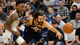 Jeff Teague Got Ejected After Checking Ricky Rubio Into The Bench