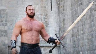 Watch The Mountain From 'Game Of Thrones' Set A World Deadlift Record And Chuck A Ridiculous Weight With Ease