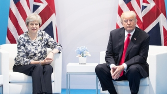 Trump, Theresa May, Angela Merkel, And Emmanuel Macron Jointly Condemn Russia's Alleged Poisoning Of An Ex-Spy