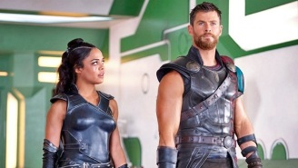 Here's The First Look At The 'Men In Black' Spin-Off With Chris Hemsworth And Tessa Thompson