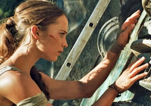 Alicia Vikander Cheats Death In Seven 'Tomb Raider' Clips