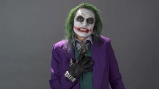 Tommy Wiseau's Performance As The Joker Is Appropriately Bizarre, And Actually Quite Gripping