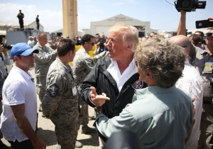 Study: Trump Responded Better To The Hurricane In Texas Than The One That Hit Puerto Rico