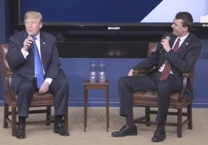 Trump Gives Just The Most Side-Splitting Answer When Asked What Advice He'd Give Himself At 25