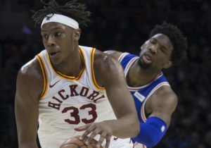 Myles Turner Thinks Joel Embiid Flops, And It's Getting 'Annoying'