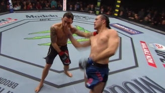 Brian Ortega Becomes The First Man To Finish Frankie Edgar By Nailing A Monster Uppercut At UFC 222