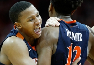 Virginia Stunned Louisville By Scoring Five Points In The Game's Final Second
