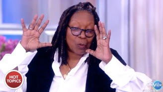 Whoopi Goldberg Compared The Trump Presidency To A 'Poo Pie'