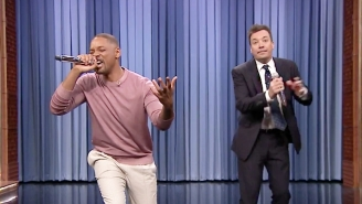Will Smith Brings Back 'Fresh Prince' On 'Fallon' While Performing Some Of The Best TV Themes Of All Time