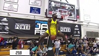 Zion Williamson Won The McDonald's All-American Dunk Contest With Some Crazy Makes (And Misses)