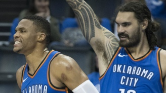 Steven Adams Is 'Really F*cking Weird' So He Doesn't Worry About His Relationship With Russell Westbrook