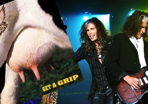 Happy 25th Anniversary To Aerosmith's 'Get A Grip,' The Worst Album Cover Ever