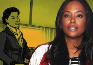 Aisha Tyler Makes A Grand Entrance On 'Archer: Danger Island'
