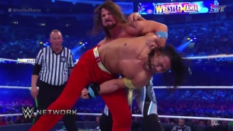 Shinsuke Nakamura Took A Sore Loss To AJ Styles At WrestleMania