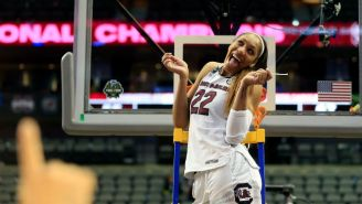 WNBA First Overall Pick A'ja Wilson Got A Congratulatory Message From Blake Griffin