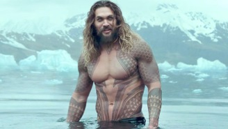 A Brilliant Girl Scout Is Selling Cookies With 'Help' From 'Aquaman' Star Jason Momoa