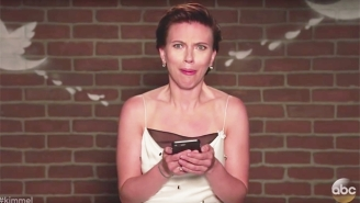 Scarlett Johansson, Chadwick Boseman, And Other Avengers Read Some 'Infinity War' Mean Tweets On 'Kimmel'