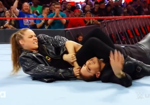 Watch Ronda Rousey Wreck Stephanie McMahon Once Again On WWE Raw
