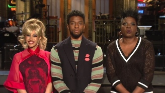 Cardi B And Chadwick Boseman Are Either Cousins Or Married In Their 'Saturday Night Live' Promo