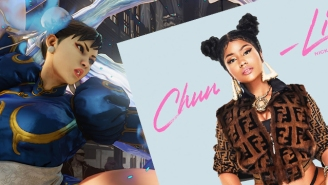 Nicki Minaj Is By No Means The First Rapper To Reference Chun-Li From 'Street Fighter'