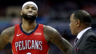 It's Hard For Rockets GM Daryl Morey To See 'On Paper' How DeMarcus Cousins Fits On The Warriors