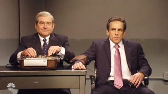 Robert De Niro And Ben Stiller Crashed 'SNL's' Cold Open With Pee Tapes And Lie Detector Tests