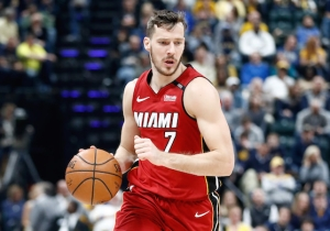 Goran Dragic Picked Up A Technical Foul For Smacking The Back Of Ben Simmons' Head