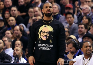 Drake Proved He's Still The World's Biggest Doris Burke Fan At Wednesday's Raptors-Celtics Game