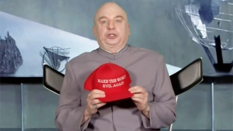 Mike Myers Revives Dr. Evil From 'Austin Powers' To Discuss His Departure From The Trump Administration