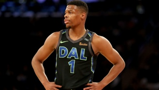 Dennis Smith Jr. Busted Out A Dunk Contest-Caliber Jam Against The Blazers
