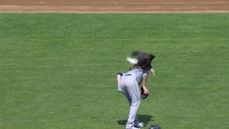 A Bald Eagle Landed On Mariners Pitcher James Paxton During A Pregame Ceremony