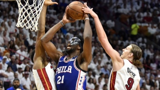 The Sixers Took Game 3 From The Heat In The Chippiest Game Of The First Round