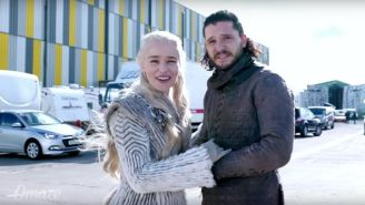 Emilia Clarke Wants To Show You Around The 'Game Of Thrones' Set (For A Good Cause)
