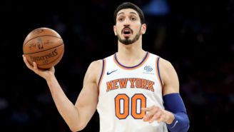 Enes Kanter Called Hedo Turkoglu 'Erdogan's Lap Dog' Over Comments About The Knicks' London Trip