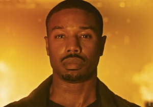 Michael B. Jordan Burns The Heck Out Of Some Books In The Trailer For HBO's 'Fahrenheit 451'